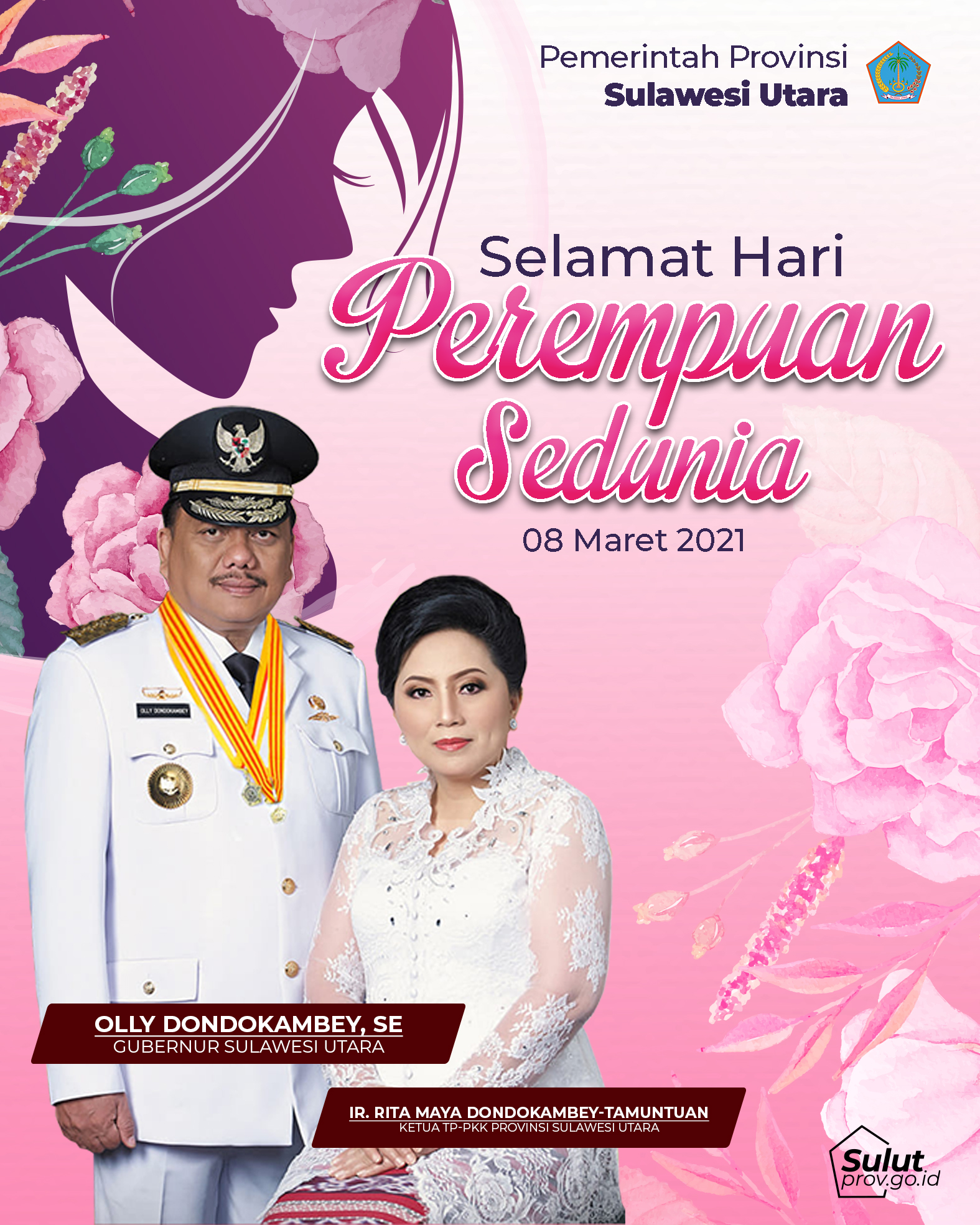 Selamat Hari Perempuan Sedunia 08 Maret 2021